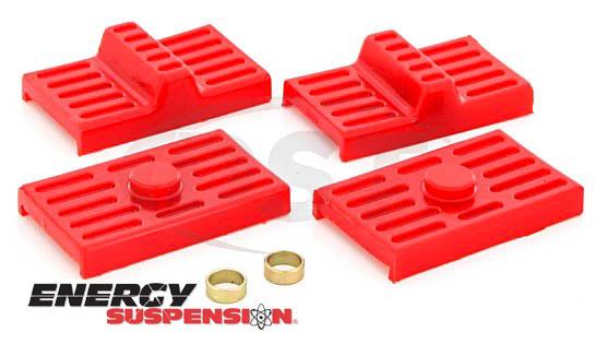 energy suspension leaf spring pads