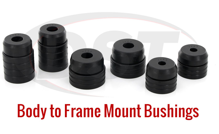 Body Chassis Mount Bushings