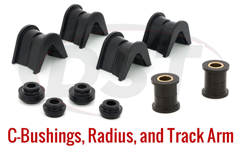 C-Bushings, Radius and Track Arm Bushings