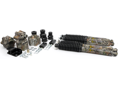 Jeep Wrangler JK 2008 Front and Rear Suspension Lift - 3 Inch - Camouflage/Discontinued