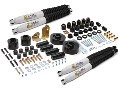 kj09155bk Suspension / Body Lift Combo Kit