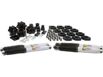 kj09156bk Suspension / Body Lift Combo Kit