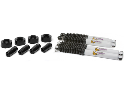 kj09158bk Suspension Lift Kit Combo - 1-3/4 Inch