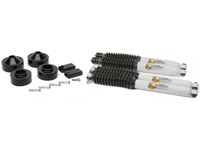 Jeep Wrangler JK 2008 Front and Rear Coil Spacer Kit - 1-3/4 Inch