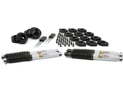 Jeep Wrangler JK 2008 Front and Rear Coil Spacer Kit - 2-3/4 Inch