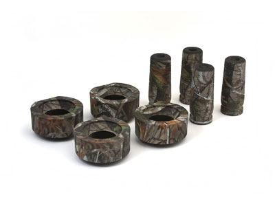 kj09103camo Front and Rear Suspension Lift - 1 3/4 Inch