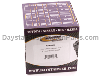 kj09139bk Front Leveling Kit - 3/4 Inch