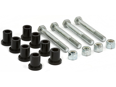 Greaseable Bolt and Bushing Kit - Front Shackle Only