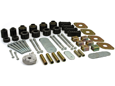 kt04510bk Body Mount Kit - 1 Inch Lift - discontinued