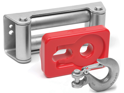 ku70039re Winch Isolator Roller - Red