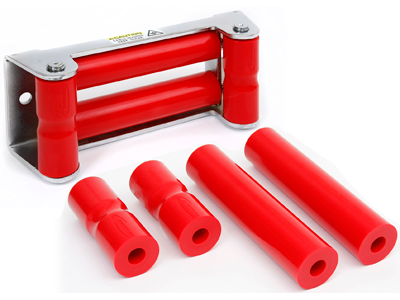 ku70054re Polyurethane Rope Rollers For Winch Roller Fairleads