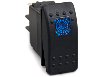 ku80011 Rocker Switch - Blue Light