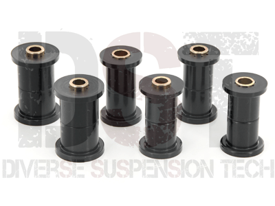 Rear Leaf Spring Bushings - for use with aftermarket shackles