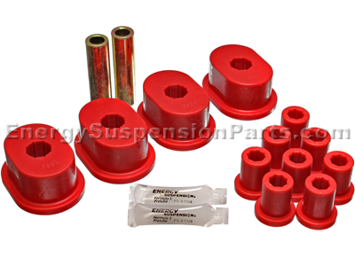 5.2110 Rear Leaf Spring Bushings - With oval main eye bushing