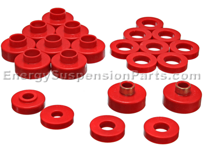 2.4103 Body Mount Bushings and Radiator Support Bushings