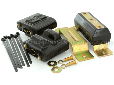 3.1131_v8auto Complete Engine and Tranmission Mount Set - Zinc - V8 Automatic Transmission Only