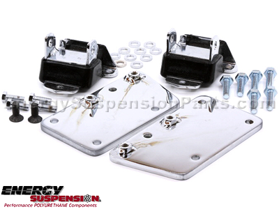 Chevrolet Chevelle 1971 LS-Series Motor Conversion Set - Chrome Plated