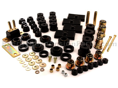 Complete Suspension Bushing Kit - Chevrolet/Pontiac 67-69 Models - Multi Leaf