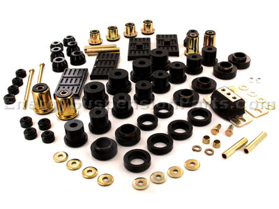 Complete Suspension Bushing Kit - Chevrolet and Pontiac Models - Mono Leaf