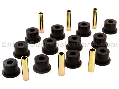 Rear Leaf Spring Bushings - 2600-3500 lb Axle Rating - 1.75 Inch Frame Shackle Bushing