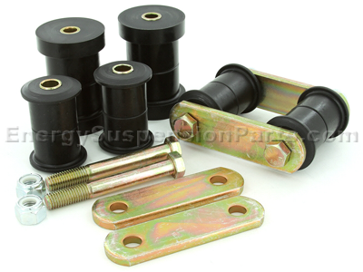 Shackle Set - Multi Leaf (Includes all Spring Bushings)