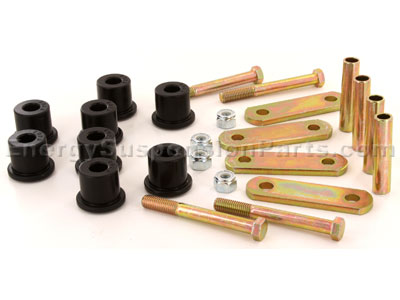 Rear Shackle Set - Mono leaf (Does not Include Spring Bushings)