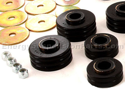3.4104 Body Mount Bushings and Radiator Support Bushings - Blazer