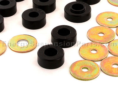 3.4111 Body Mount Bushings and Radiator Support Bushings - Except Convertible