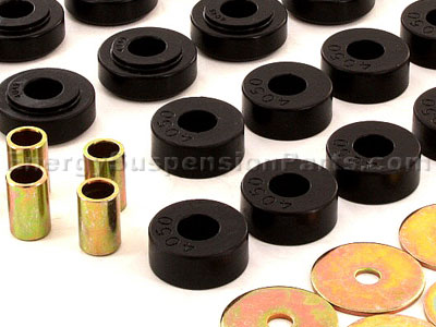 3.4112 Body Mount Bushings and Radiator Support Bushings - Convertible