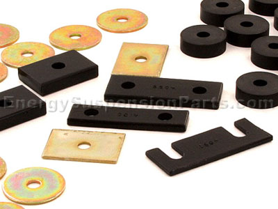 3.4119 Body Mount Bushings - Convertible Only