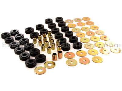 Body Mount Bushings and Radiator Support Bushings - Convertible Only