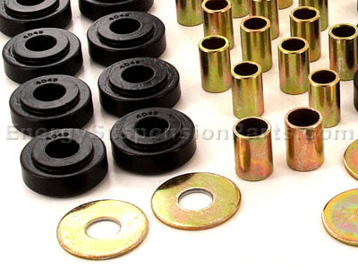3.4127 Body Mount Bushings and Radiator Support Bushings - Convertible Only