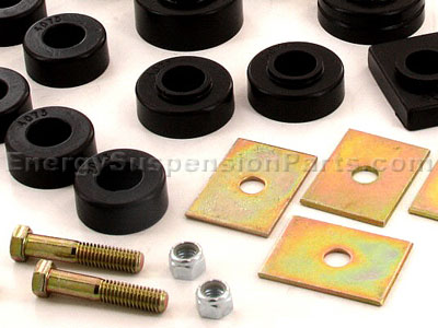 3.4155 Body Mount Bushings and Radiator Support Bushings