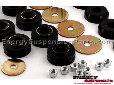 4.18105 Complete Suspension Bushing Kit - Ford Bronco 4WD 66-77 - with 4 Degree C Bushings