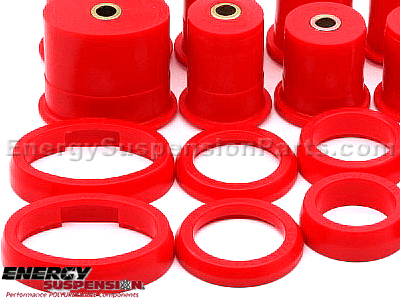 4.3115 Rear Control Arm Bushings / With oval front bushing
