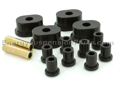Rear Leaf Spring Bushings - With oval main eye bushing
