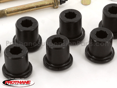 1814 Front Greaseable Shackle Bushings and Hardware Kit