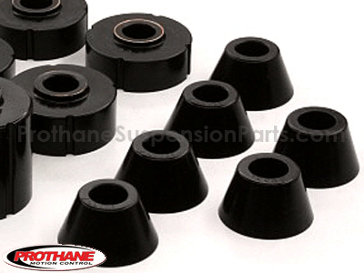 7104 Body Mount Bushings and Radiator Support Bushings - Standard Cab