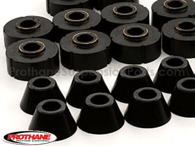 7107 Body Mount Bushings and Radiator Support Bushings